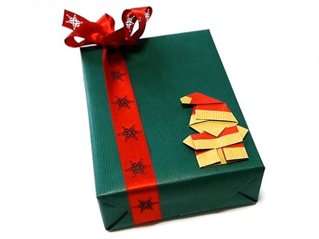 サンタクロースの折り紙