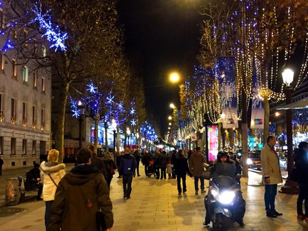 クリスマス2015 パリ