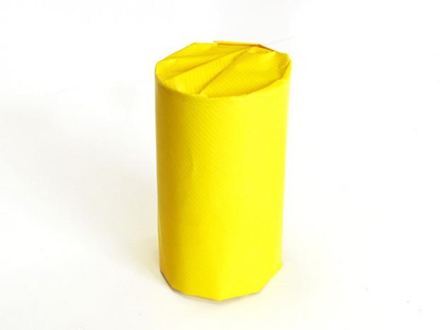 円筒形の包み方